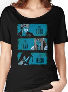 The Good the Bad and the Hero Women's Relaxed Fit T-Shirt