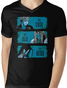 The Good the Bad and the Hero Mens V-Neck T-Shirt