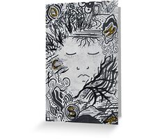 Shock by 'Donna Williams' Greeting Card