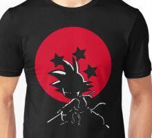 Red Ball Silhouette Goku Unisex T-Shirt
