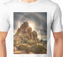Sun halo above The Cathedral Unisex T-Shirt
