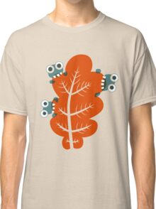 Cute Bugs Eating Autumn Leaves Classic T-Shirt