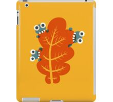Cute Bugs Eating Autumn Leaves iPad Case/Skin