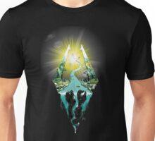 Nature Skyrim logo Unisex T-Shirt