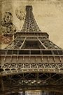Eiffel Tower, Paris, France #3 by Elaine Teague