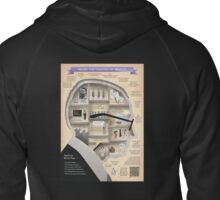 Brecht Infographic Poster Zipped Hoodie