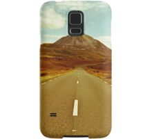 landscape of road to the Errigal mountains Samsung Galaxy Case/Skin