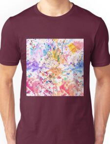 Rainbow watercolor Unisex T-Shirt
