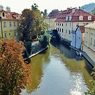 Watermill on Vltava River by Astrid Ewing Photography