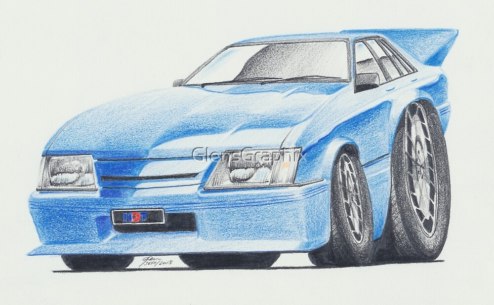 Holden Commodore VK Group A by Glens Graphix by GlensGraphix