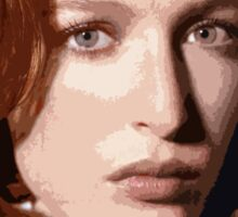 Dana Scully cutout Sticker