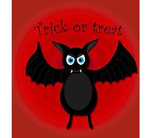 Halloween bat Photographic Print