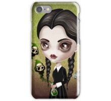 Be Afraid (Wednesday) iPhone Case/Skin