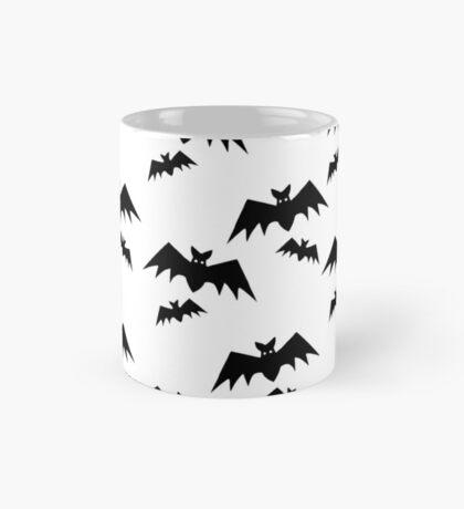 Picto Halloween - Bats black Mug