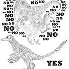 Just say NO to unfeathered non-avialan maniraptoran theropod dinosaurs by TetZoo