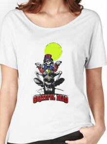 Grateful Dead - Motorcycle Skull Women's Relaxed Fit T-Shirt