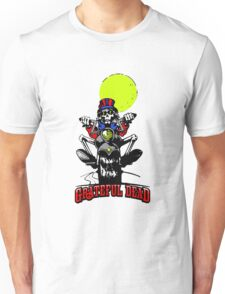 Grateful Dead - Motorcycle Skull Unisex T-Shirt