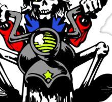 Grateful Dead - Motorcycle Skull Sticker