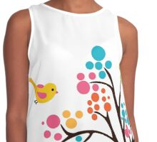 Cute Colourful Tree Contrast Tank