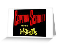 Captain Scarlet and the Mysterons Greeting Card