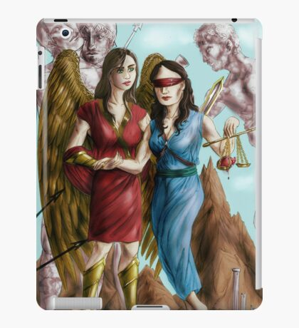 Hannibal - Nike and Themis colored iPad Case/Skin