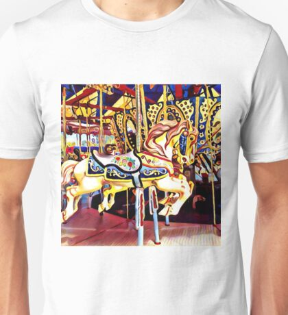 carousel horse childhood memories Unisex T-Shirt