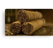 The Cigars Canvas Print