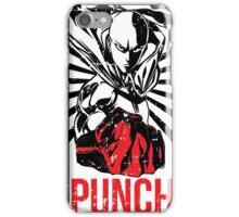PUNCH!!! iPhone Case/Skin