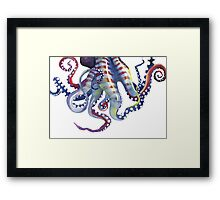 Sea Monster Framed Print