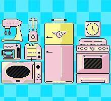Pixel Appliances by Dillon Finley