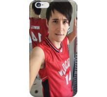 danisnotonfire (troy bolton selfie) iPhone Case/Skin