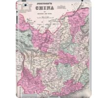 Vintage Map of China (1862)  iPad Case/Skin