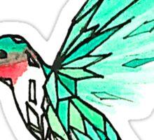 Glass Bird Sticker