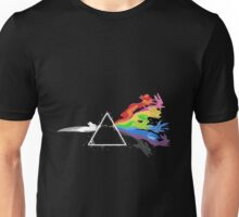 Eeveelution - dark side of the moon Unisex T-Shirt