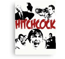 Hitchcock - collection Canvas Print