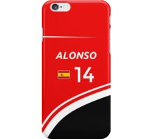 F1 2014 - #14 Alonso iPhone Case/Skin