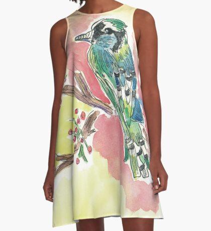 Bird watching lover A-Line Dress