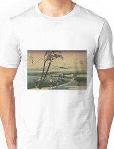 Sunshu ejiri - Hokusai Katsushika - 1890 Unisex T-Shirt