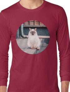 Cat, Aso, Temple Long Sleeve T-Shirt