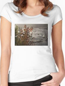 Riverbank Color -  Women's Fitted Scoop T-Shirt
