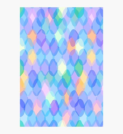 Purple Pattern Photographic Print