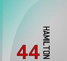 F1 2014 - #44 Hamilton by loxley108