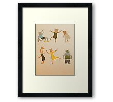 Let Her Dance Framed Print