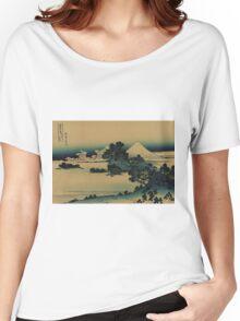 Soshu shichirigahama - Hokusai Katsushika - 1890 Women's Relaxed Fit T-Shirt