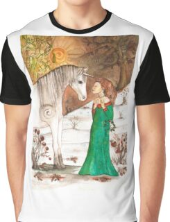 Yule Blessings Graphic T-Shirt