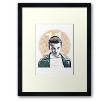 Eleven - Stranger Things - 11 Framed Print