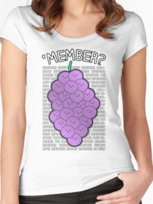 'MEMBER? Women's Fitted Scoop T-Shirt