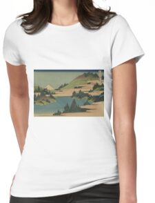 Soshu hakone kosui - Hokusai Katsushika - 1890 Womens Fitted T-Shirt