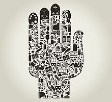 Hand art by Aleksander1