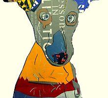 kacy the greyhound by bri-b